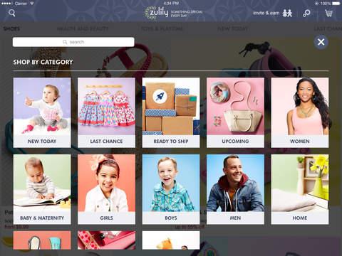 zulily screenshot 8