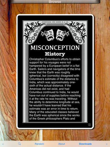Common Misconceptions Screenshots