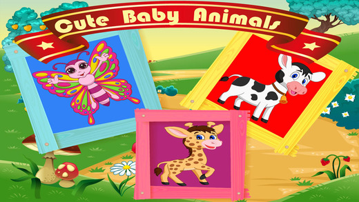 Cute Baby Animals Puzzle Game