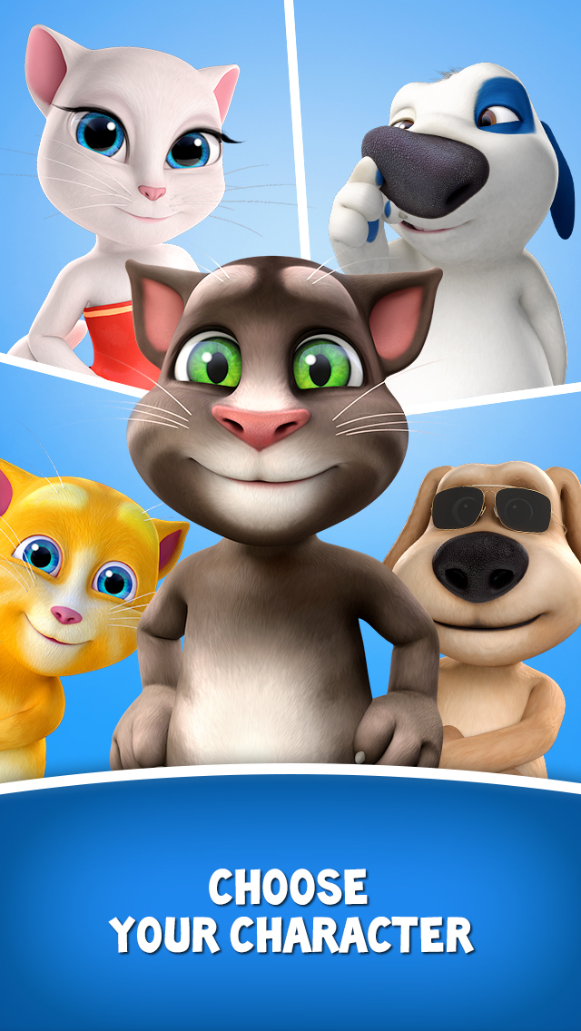 Talking Tom for Messenger Screenshot 3