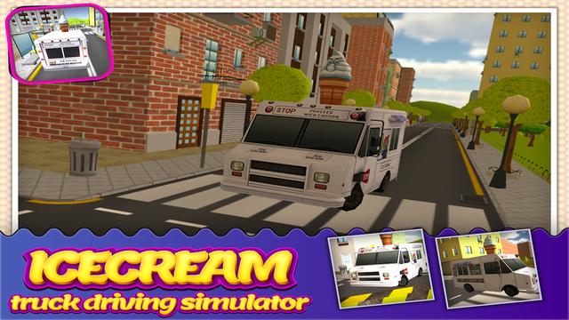 Ice Cream Delivery Truck Simulator 3D