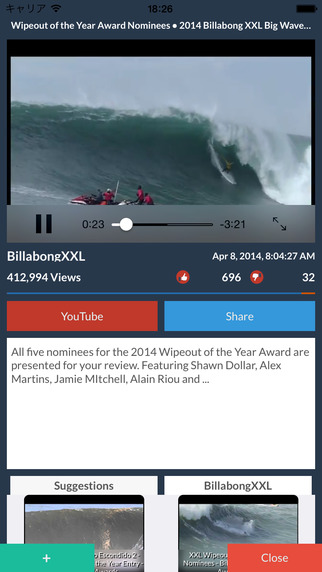 SurfTube Free - Surfing Video Collection Surf Magazine -