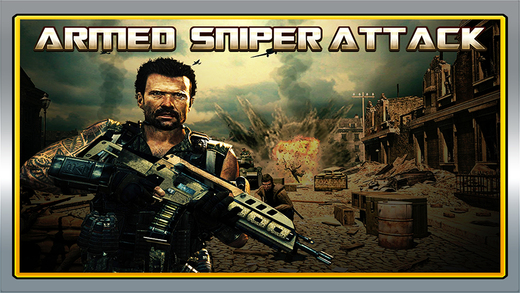 Armed Sniper Attack : Military Navy Seals Shooting Terrorists FREE