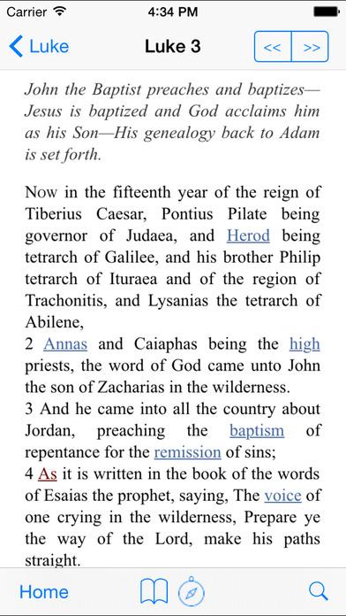 The Scriptures iPhone Screenshot 2