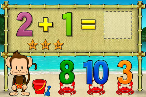 Screenshot 2 Monkey Math School Sunshine