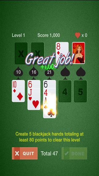 Blackjack Solitaire Supreme