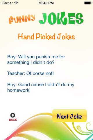 Funny, Hilarious Jokes screenshot 1