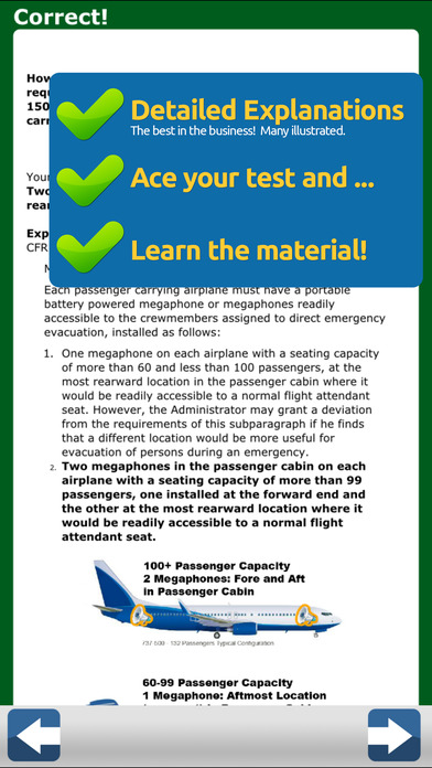 GroundSchool FAA Knowledge Test Prep - Airline Transport Pilot iPhone Screenshot 4