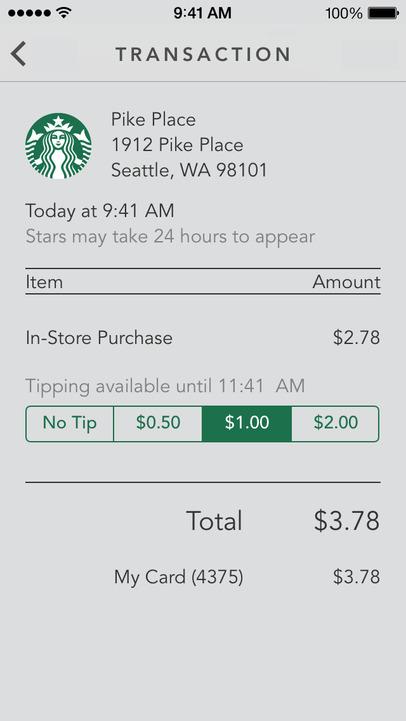 Starbucks - iPhone Mobile Analytics and App Store Data
