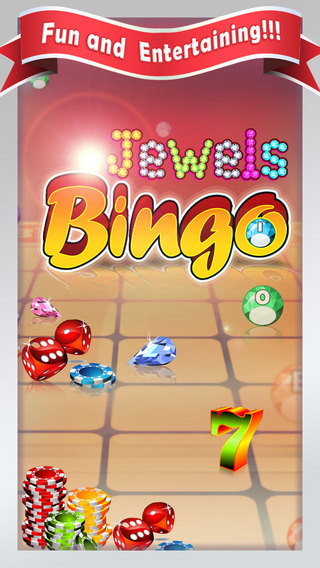 Jewels Bingo Pro - A World of Lucky and Fun Party game