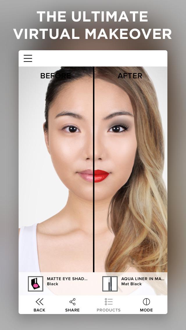 App Shopper Makeup Beauty Simulator Hair Try On Face Photo