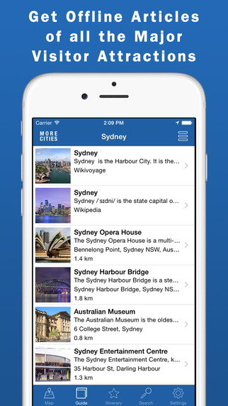 Sydney Travel Guide Offline Map