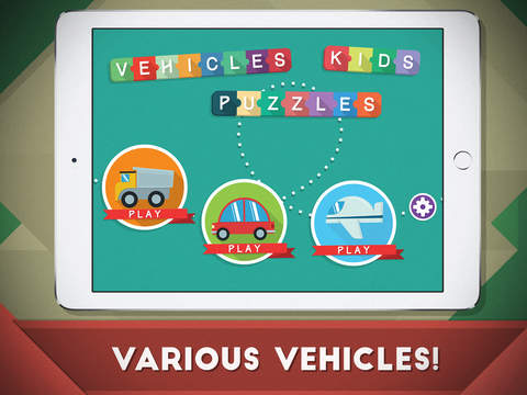 Kids Cars, Vehicles and Trucks Puzzle Game for Toddlers and Baby Boys to look, listen and learn Screenshots
