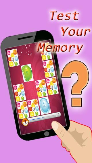 A alphabetic memory test addictive puzzle game