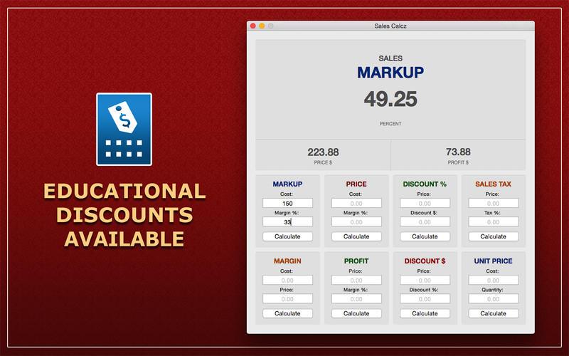 Sales Calcz Screenshot - 3