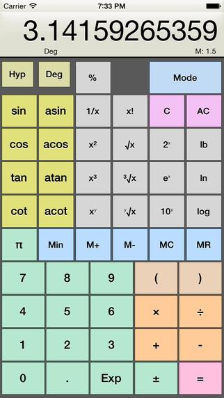 Kalkulilo scientific calculator