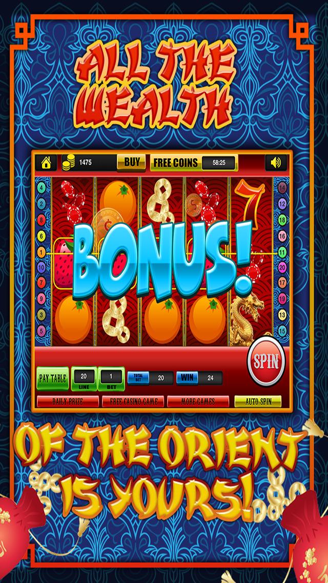chinese dragon slot machine