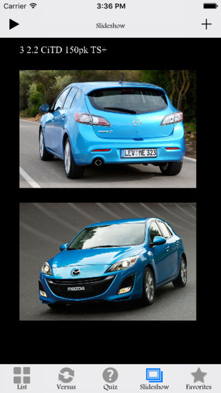 Mazda Specs Edition