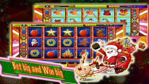 Slots of Merry christmas day-Happy Holiday casino
