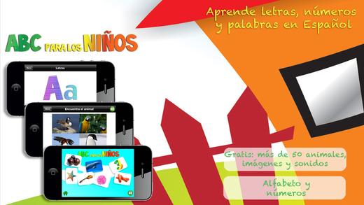 ABC para los Niños Aprende Español Gratis