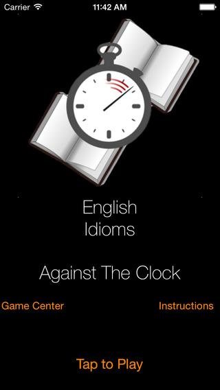 Against The Clock - English Idioms