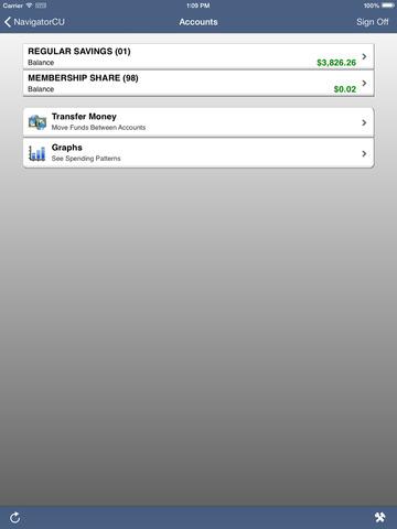 Navigator Credit Union Mobile Banking screenshot 7