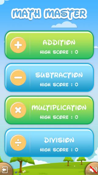 Math Master - Mind Game