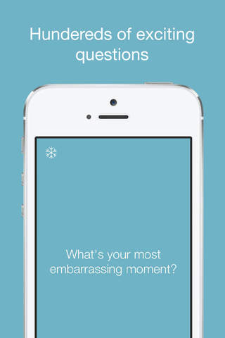Icebreaker: Hundreds of icebreaking questions screenshot 2