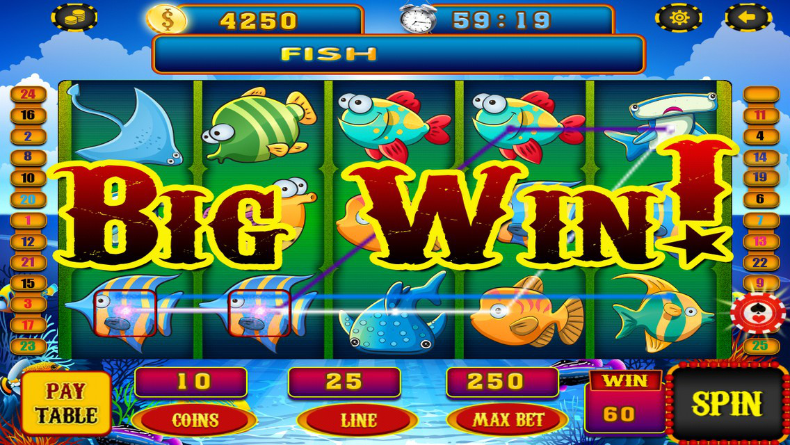 App shopper catch the wild shark slots by fishing riches for Big fish casino real money