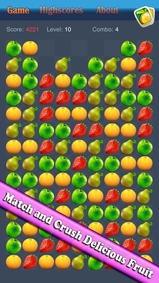 Fruit Crush Paradise - Fruit Blast Mania Fruit Match Game