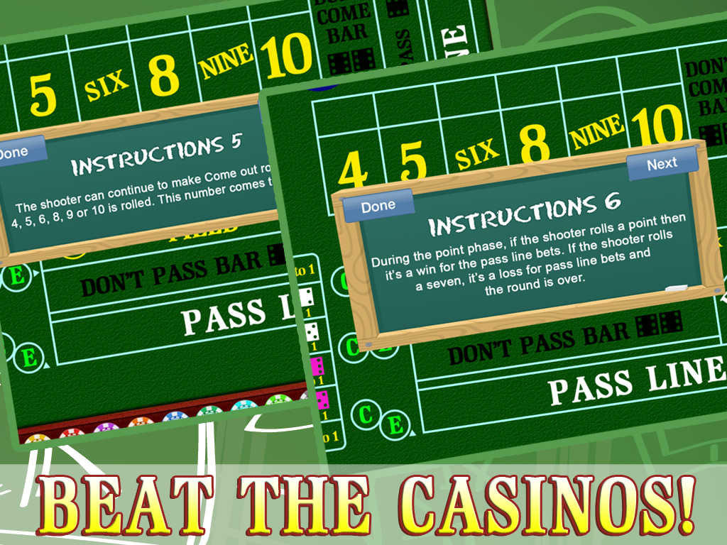 Make your living playing craps