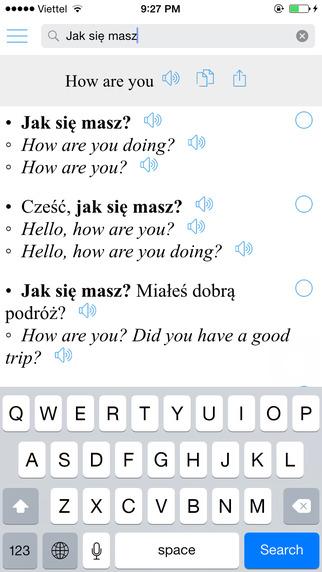 Human Translate + Polish English Sentences Polski tłumacz
