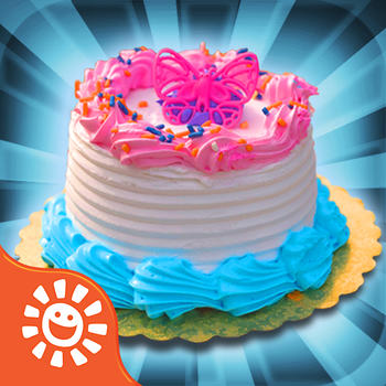 Cake Maker Game - Make, Bake, Decorate & Eat Party Cake Food with Frosting and Candy Free Games LOGO-APP點子