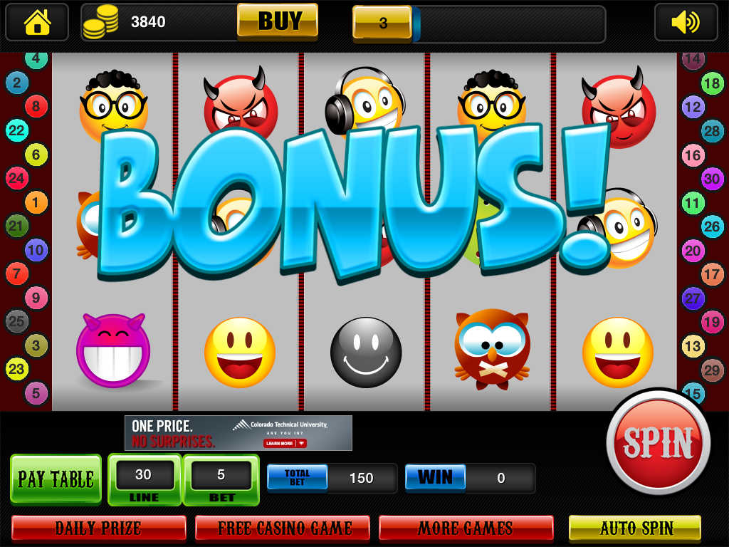 Free slot no download no register
