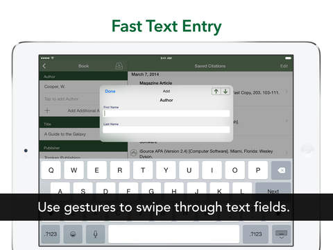 iSource APA iPad Screenshot 2