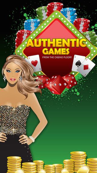 Authentic games from the Casino floor