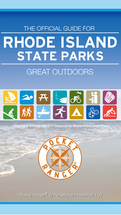 The Official Rhode Island State Parks Great Outdoors - Pocket Ranger™ iPhone Screenshot 1