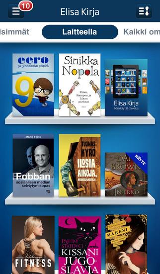 Elisa Kirja - Read eBooks Listen to Audiobooks from Leading eBook Service in Finland