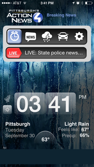 Alarm Clock Pittsburgh - WTAE Channel 4 Action News This Morning