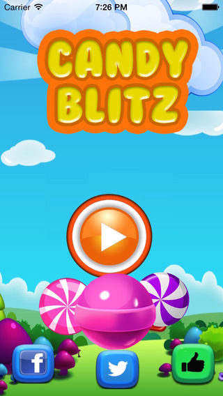 Candy Blitz - Lollipop Candied Match-3 Puzzle Crush Game