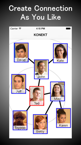 KONEKT - Family Relatives Friends Anybody Linked To You Can Be Connected