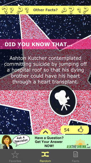 Did You Know... Celebrity Facts