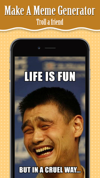 Make A Meme Generator - Make Custom Rage Faces pics Troll Images with captions
