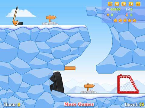 Ice Hockey Shot iPad Screenshot 2