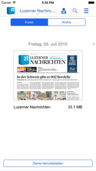 Luzerner Nachrichten - ePaper
