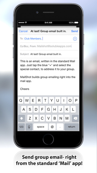MailShot- Group Email Done Right