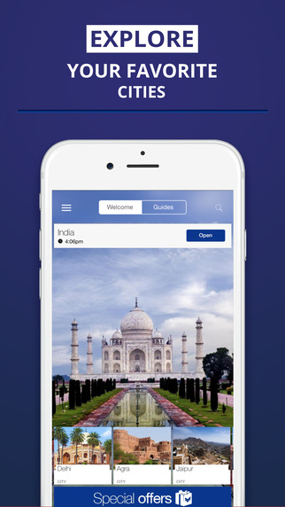 India - your travel guide with offline maps from tripwolf guide for sights tours and hotels in Delhi
