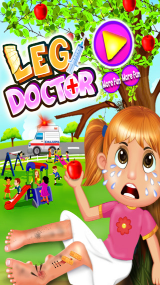 Crazy Leg Doctor – Virtual Surgery Games for kids