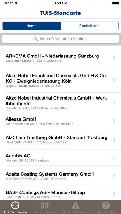 TUIS iPhone Screenshot 1