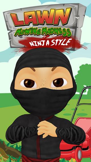 Lawn Mowing Madness: Ninja Style Pro